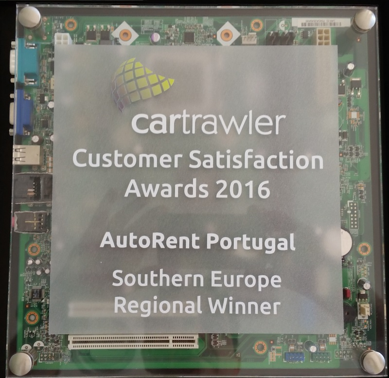 Auto Rent Customer Satisfaction Award